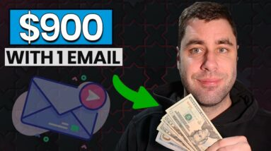 I Made $900 With 1 Email & Affiliate Marketing | Best Make Money Online Right Now?