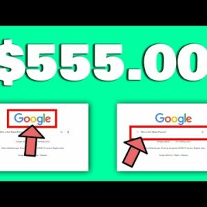 """Type """"This"""" On Google And Earn $555 In Just 10 Seconds! (Earn Money From Google 2021)"""