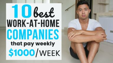 10 Best Remote Companies Offering Part Time Work from Home Jobs