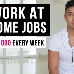 7 Genuine Work At Home Jobs That Pay Weekly (In 2021)