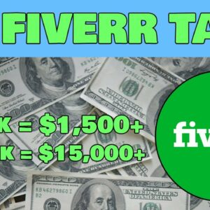 Earn $1,500+ With No Work Using Fiverr! (Make Money From Fiverr 2021)