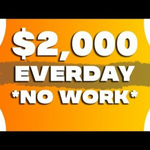 Get Paid $2,000 Every Single Day Doing This! (Make Money Online)