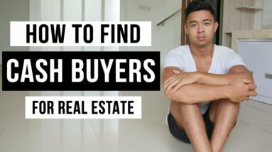 How To Find Cash Buyers For Real Estate