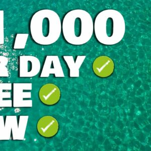 New App Pays You $1,000 Per Day! (Make Money Online For Free)