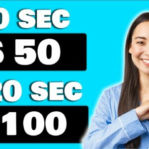 New App Pays You $50 Every 60 Seconds! (Earn PayPal Money For Free)
