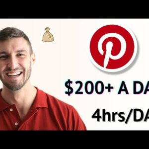 Easiest Way To $200+ A Day On Pinterest With Clickbank & Digistore24 (Pinterest Tutorial)