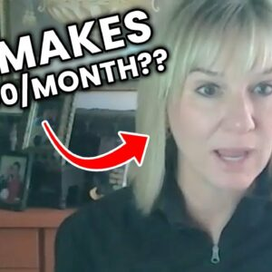 She Makes $30,000 Per Month with Affiliate Marketing at 47 Years Old