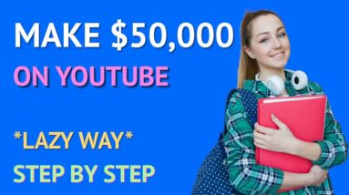 Make $1500/Day On YouTube Shorts Without Making Videos *Lazy Way To Make $50k*