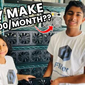 These 14  and 9 Year Old Siblings Earn Over $30,000 a Month Mining Cryptocurrency