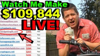 Can Marcus Earn $109,844 Live? - Full Affiliate Tutorial (part 1)