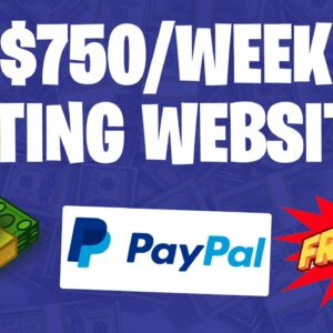 Earn $750 Per Week For In FREE PAYPAL MONEY! (Make PayPal Money 2021)