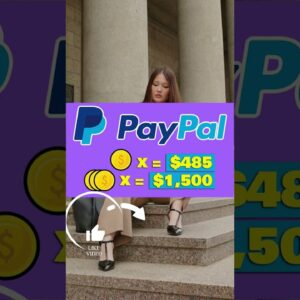 New App Pays Beginners $485+ Per Day In FREE PAYPAL MONEY! (Make PayPal Money 2021) #Shorts