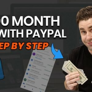 How To Make Money On PayPal Online In 2021 Step by Step! (For Beginners)