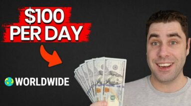 How To Make Money Online & Make $100 A Day As A Broke Beginner!