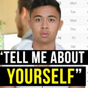 """What to say when a job interviewer says, """"Tell me about yourself"""""""